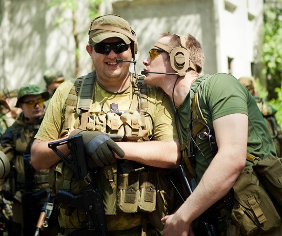 Я видел НАТО. Да ладно, нет их тут.