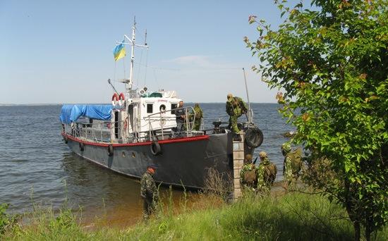 Морской десант.